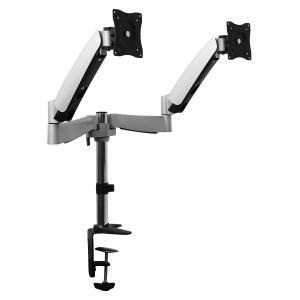 LDT04-C024 staffa da tavolo per 2 monitor <9kg x 2