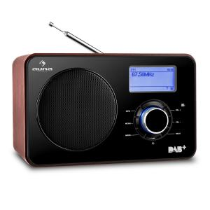 Worldwide Internet radio WLAN/LAN DAB+ FM Tuner USB AUX Dual Alarm