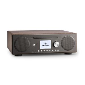 auna Connect CD Internet Radio Digitale Spotify Connect App Bluetooth noce