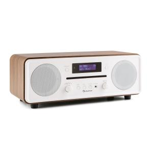 auna Melodia CD DAB+/OUC Desktop Radio Lettore CD Bluetooth Alarm Snooze noce