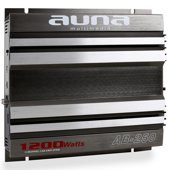 AB-250 Amplificatore Auto 1/2 canali 2 x 90W RMS, 1200W max 2