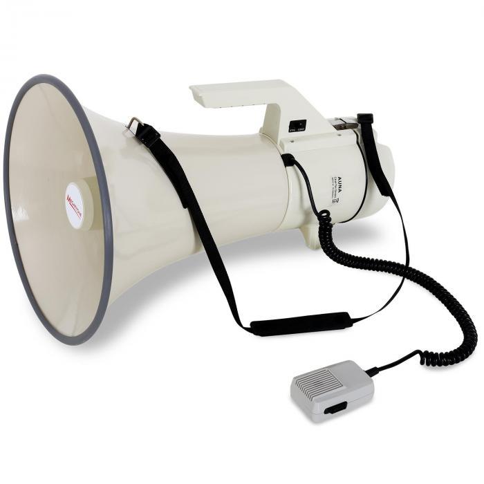 megafono professionale 160Wdistanza 2400m
