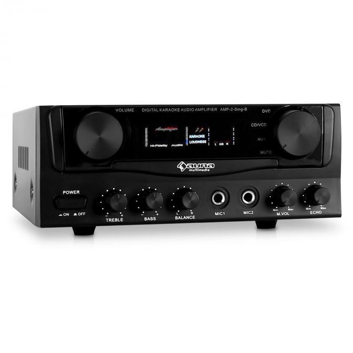Amp-2 Amplificatore hi fi Karaoke 400 W