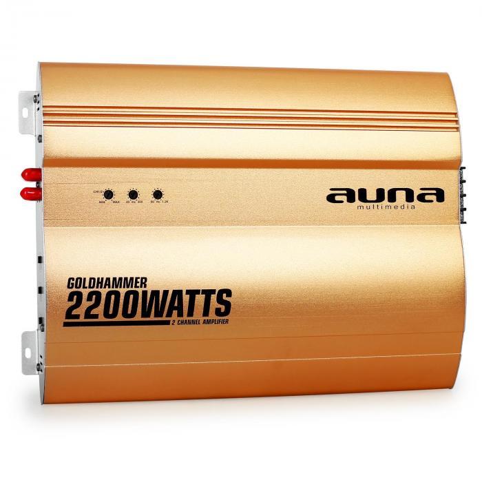Goldhammer amplificatore per auto a 2 canali 2