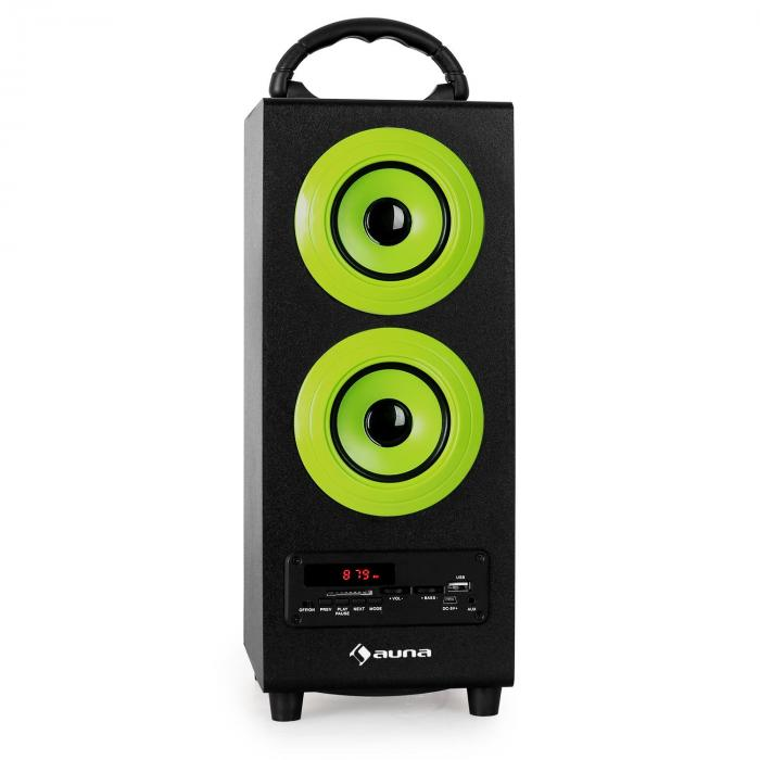 Beachboy altoparlante bluetooth verde