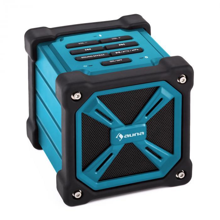 TRK-861 Altoparlante bluetooth portatile con batteria blu