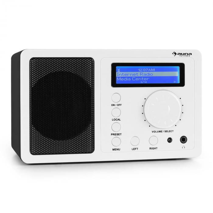 IR-130 Internet radio W-LAN Streaming Bianco bianco