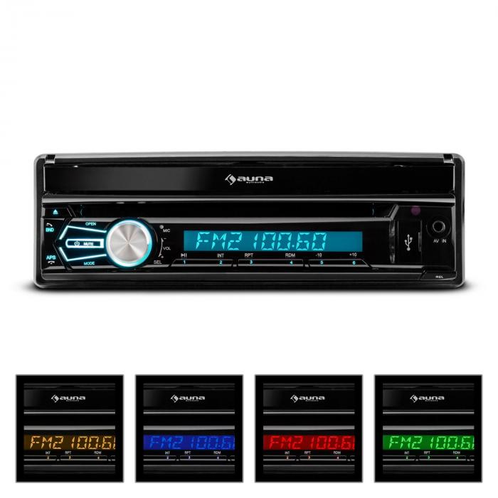 "MVD-320 Autoradio 17,8 cm (7"") Touchscreen Bluetooth DVD USB"