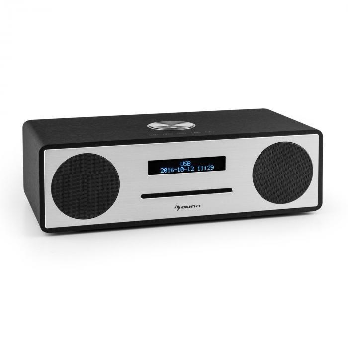 Stanford Radio DAB-CD DAB+ Bluetooth USB MP3 AUX VHF nero